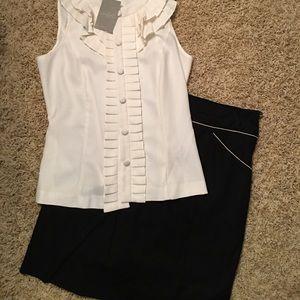 : Anthropologie: BNWT Skirt And Blouse set